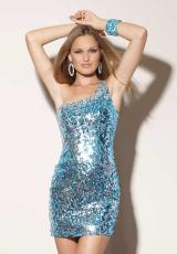Mori Lee Sticks and Stones 9174.  Available in Blue, Red