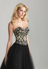 2013 Sequins Corset Top Night Moves Prom Dress 6626