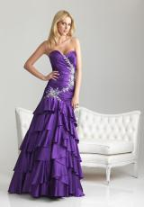 2013 Night Moves Fitted Bodice  Prom Dress 6638