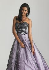 2013 Night Moves Strapless Prom Dress 6707