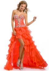 2013 Party Time Corset High Low Gown 6015