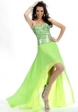 2013 Party Time Fitted Bodice Gown 6033