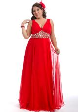 2013 Party Time Long Gown 6262