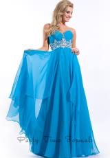 Party Time Formals 6456.  Available in Black, Turquoise, Vanilla, White