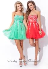 2014 Party Time Strapless Dress 6462