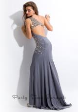 Party Time Dresses 6514.  Available in Gunmetal, Red, White
