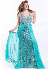 Party Time Dresses 6588.  Available in Aqua Marine, Neon Pink