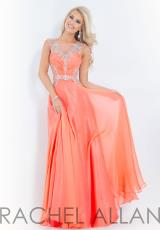 Rachel Allan 6849.  Available in Coral, Red, Royal, Sky Blue