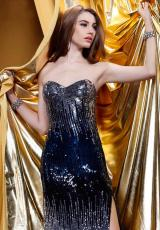 2013 Shail K Fitted Prom Dress SK3168L