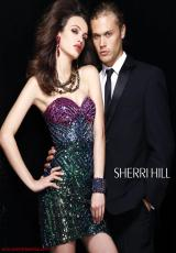 2012 Sherri Hill Fitted Prom Dress 2892