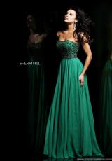 Sherri Hill 11075.  Available in Blush, Emerald, Ivory/Gold, Purple, Turquoise
