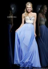 Sherri Hill 1923.  Available in Light Green, Nude, Peach, Periwinkle, Pink, White