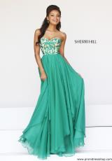 2014 Sherri Hill Empire Waist Prom Dress 1924
