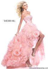 Sherri Hill 21170.  Available in Ivory, Light Pink