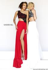 2014 Sherri Hill Jersey Skirt Prom Dress 21252