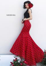 Sherri Hill 21260.  Available in Black/Red