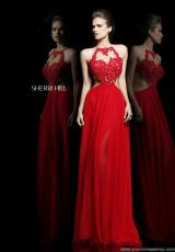 Sherri Hill 21309.  Available in Red/Nude