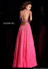 Sherri Hill 8506.  Available in Aqua, Fuchsia, Pink, Strawberry, Turquoise