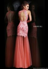 Sherri Hill 9711.  Available in Coral