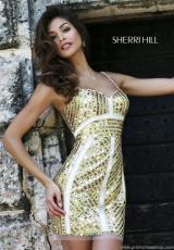 2014 Sherri Hill Sequins Short Homecoming Dress 9726