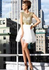 Short Elegant Tarik Ediz Prom Dress 90322
