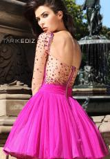 Tarik Ediz 90329.  Available in Fuchsia, Sax