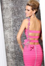 Tarik Ediz 90341.  Available in Pink