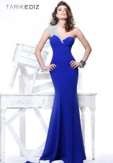 Tarik Ediz Beaded One Strap Prom Dress 92135