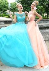 2014 Tarik Ediz Stunning A Line Prom Dress 92358