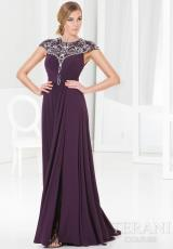 Terani Evenings M3827.  Available in Black, Eggplant