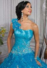 2013 Tiffany Quince 26678 Fitted Bodice Dress