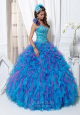 One Shoulder Tiffany Quinceanera Dress 26701
