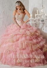 Tiffany Quinceanera 26781.  Available in Purple/Gold, Rose/Gold