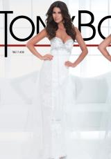 Tony Bowls Evenings TBE11408.  Available in Off White