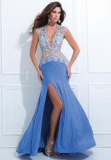 Tony Bowls Evenings TBE11435.  Available in Blue/Nude