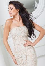 Tony Bowls Evenings TBE11511.  Available in Blue/Nude, Champagne/Nude