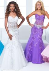 2014 Tony Bowls Paris Corset Prom Dress 114734