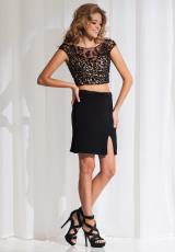 Tony Bowls Shorts TS11590.  Available in Black/Nude