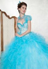88055 Vizcaya Ball Gown Quinceanera Dress 2014