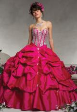 88064 Vizcaya Ball Gown 2014 Quince Dress