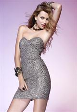 2012 Scala Beaded Homecoming Dress Q1029