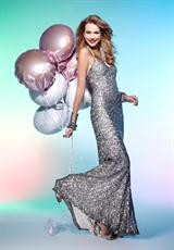 Scala 2012 Beaded Prom Dress Q1040