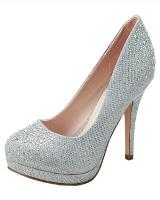 Blossom-Footwear Robin-46.  Available in Silver Sparkle