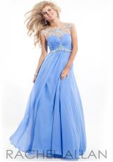 Rachel Allan 6934.  Available in Apricot, Aqua Marine, Periwinkle, Pink