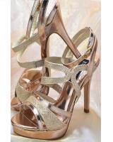 Tony Bowls Shoe Saddie.  Available in Pewter, Rose Gold
