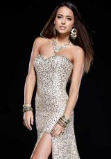 Long 2012 Shail K. Homecoming Dress KK3158L