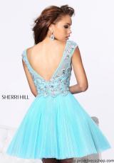2013 Sherri Hill Short Tulle Skirt Homecoming Dress 21032