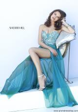 2014 Sherri Hill Sequins Homecoming Dress 9724