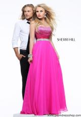 2013 Sherri Hill Sequins Bodice Prom Dress 21039