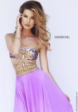 Sherri Hill 32134.  Available in Black, Coral, Emerald, Fuchsia, Ivory, Orchid, Purple, Royal, Teal, Yellow